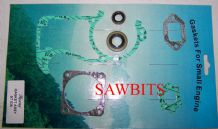 HYWAY STIHL  034 036 MS340 MS360 GASKET SET COMPLETE WITH OIL SEALS NEW